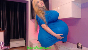 New belly and boobs inflation image/video by JessyAdams