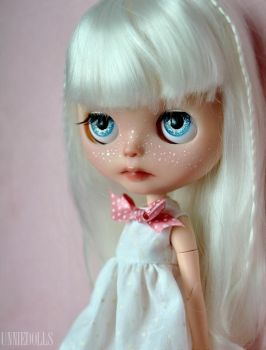 Luna (OOAK Custom Blythe doll) by Katalin89