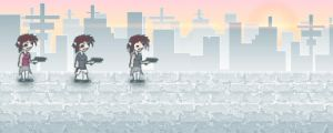 Character Design and Art Style for Game by AwakeNight