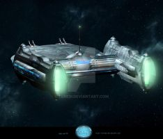 Star Corvette by Turedi