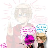 [Hetalia] Where is Canada ? by SirSakamoto