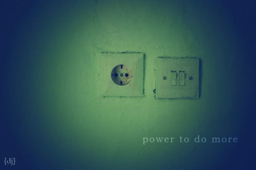 Power to do more by kangdj