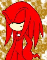 knuckles da echidna by shadow2rulez