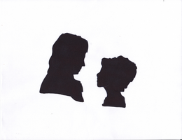 Pride and Prejudice Silhouettes by PhoenixoftheOpera