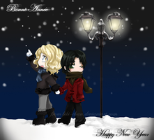 Lestat+Louis : Happy New Year by bibi-chan