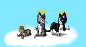 Angelic Cats by cheshire-cat-tamer