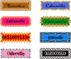 Banners for CalicoMouse by DemoniumAngel