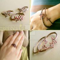 Tree of Life Rings and Bangles by popnicute