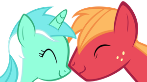 Lyra and Big Mac by YourFaithfulStudent