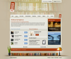 Digiboox Webdesign by PaulNLD