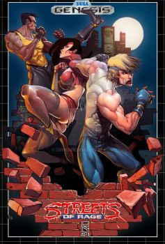 Streets of Rage by Darkdux