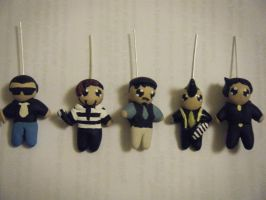 The Slants handmade charms by ChibiSayuriEtsy