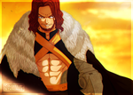 Fairy Tail 495 - Gildarts Clive [Coloring] by II-Trinuma-II