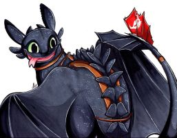 Commission: Toothless by Smudgeandfrank