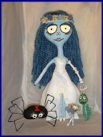 The Corpse Bride Tribute Doll by jazzy1453