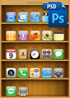 iPad Icons Source PSD by Clayf700
