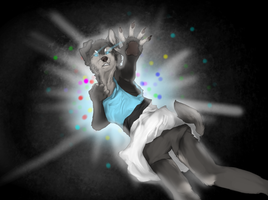 Lay me down in the darkness + SPEEDPAINT by toskurra