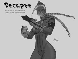 Decapre Sketch Request by SteveMillersArt
