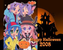 Lucky Star Halloween 2008 by AzuGirl89