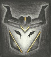 Decepticon insignia - Airachnid (TFP) by LadyIronhide