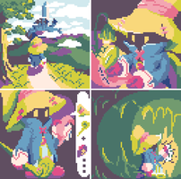 Vivi's Journey Set by MarukiHurakami