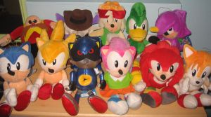 Sonic The Fighters Full Set by sonicrules100