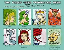 Video Game Favorites by Misty by ArtBySabinaE