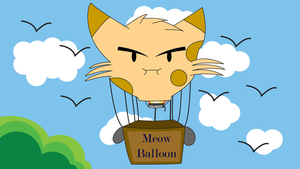 Welcome to Cat Balloon! by JuanCP