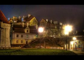 An old town, Lublin by mysterious-one
