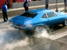 Chevy Nova Burnout by absoluteandrew