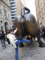 Kicking a bull in the... by erisama