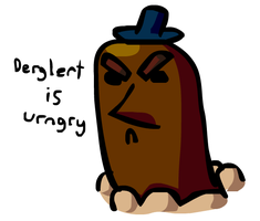 Derglert is Urngry by GroudonMcL