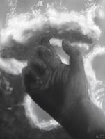 Hand in clouds by MenoaTheWise