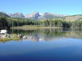 Sprague Lake - Rocky Mtn NP by bssc