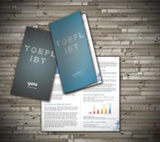 TOEFL iBT guidebook cover by Phoenix2609