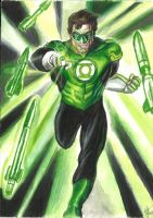 Green Lantern by HeroArtist20