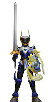 KH3 Royal Keyblade Knight + Sword MMD DL (Updated) by todsen19