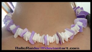 Shells Purple and White by RelicRaider