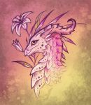 Lily dragon - design by AlviaAlcedo