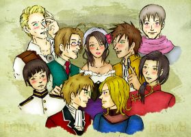 APH - Imperial Suitors by FrauV8