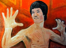 Bruce Lee by dx