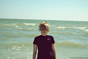 .Roxas-Peace. by mysticmoon13