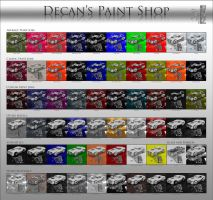 Free DAZ Shaders: Decan's Paint Shop by DecanAndersen