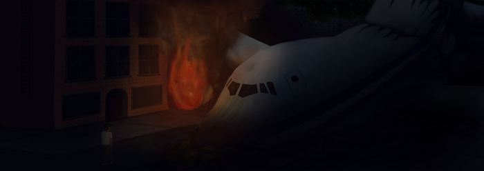 Plane Crash by TheDarkenedPoet
