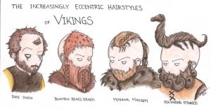 Vikings Hairstyles by Kahlan4