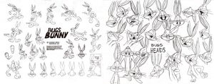Bugs Bunny Model Sheet Pt. 1 by guibor