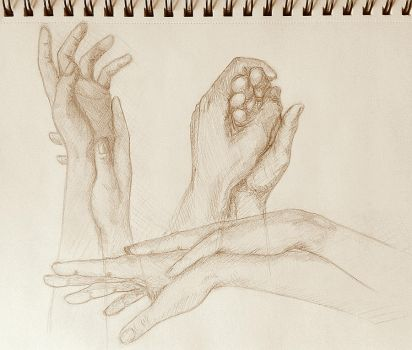 Hands practise 9. by Kiara2909