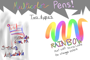 MultiColor Pens for FireAlpaca/MediBang Paint!! by relma2