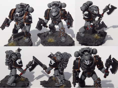 Carcharodon Tactical Marines by TheEternalRanger