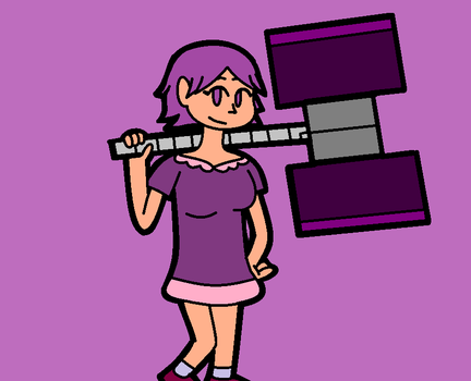 Violet by shemarspidle
